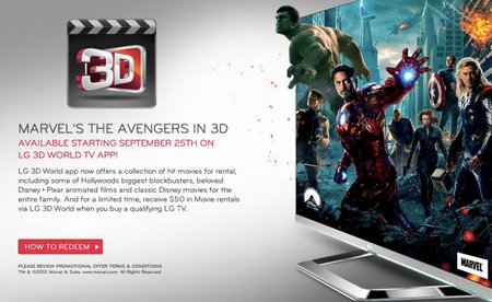 Disney 3D movies head to LG Cinema 3D televisions in US