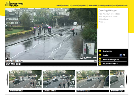 WEBSITE OF THE DAY: Abbey Road Crossing