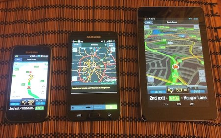 CoPilot delivers mapping solutions to over 250 different Android devices