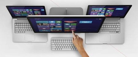 Vizio Windows 8 all-in-one touch PCs show us a touchpad future