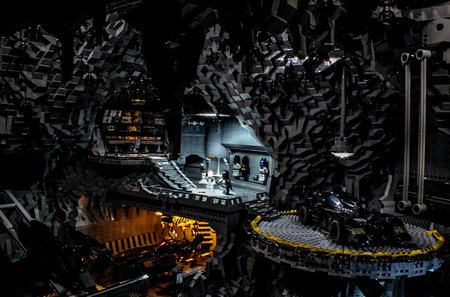 Holy Cow Batman! 20,000 brick Lego Batcave will make you want to be the Dark Knight for real