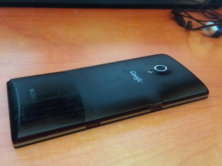 Sony Nexus X photos appear online, forgets logo needs to be straight - photo 1