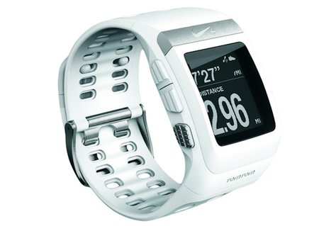Nike+ TomTom SportWatch now available in white and silver edition