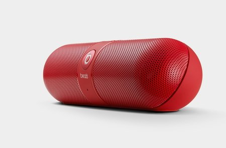 Beats by Dr. Dre prescribes NFC portable wireless speaker in the shape of the Beats Pill