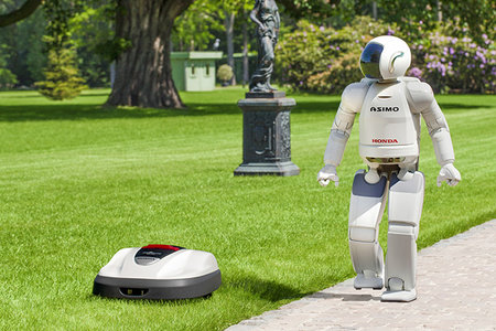 Asimo creator Honda releases first commercial robotic product in the shape of Miimo lawnmower