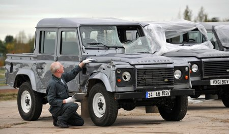 Skyfall: Behind the scenes with Land Rover