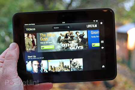 Lovefilm for Kindle Fire HD pictures and hands-on