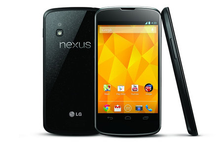 Google Nexus 4 now official, available 13 November