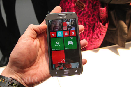 Samsung ATIV S pictures and hands-on - photo 1