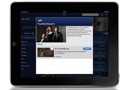 Sky Go customers can now access FX shows, including Dexter, True Blood and The Walking Dead