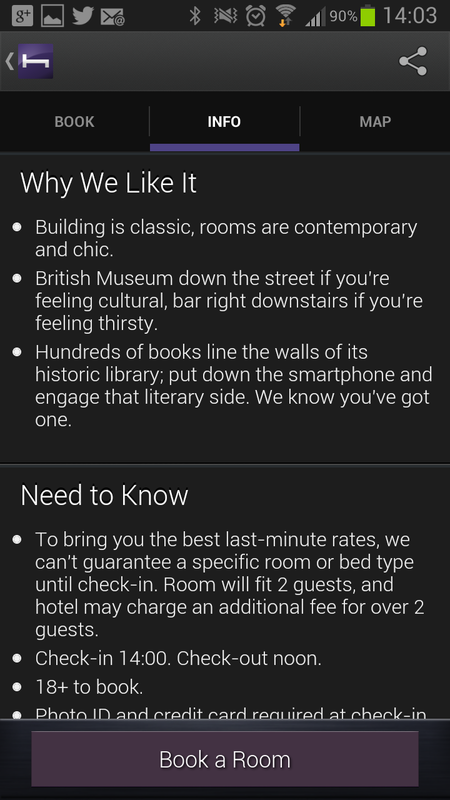 APP OF THE DAY: Hotel Tonight review (iOS / Android) - photo 7