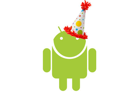 Happy birthday Android, 5-years-old today!