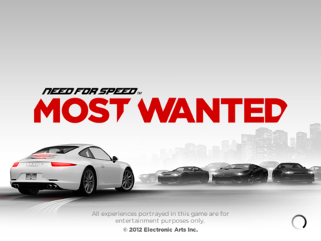 APP OF THE DAY: Need for Speed Most Wanted review (iOS)   - photo 1