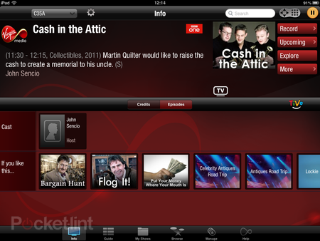 Hands-on: Virgin TV Anywhere app review (iOS) - photo 5
