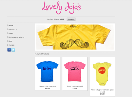 WEBSITE OF THE DAY: Lovely Jojos