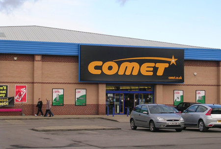 Comet fire sale now on: 'Everything reduced'