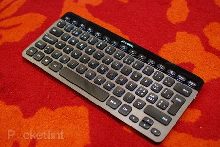 Logitech Windows 8 keyboards: K810, G710+ and washable K310 pictures and hands-on
