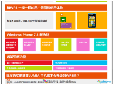 Windows Phone 7.8 features leak, expected early 2013