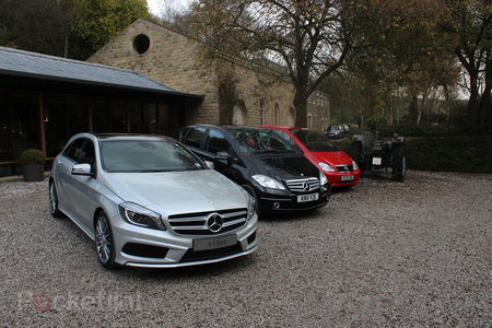 Mercedes-Benz A-Class (2013) pictures and hands-on - photo 26