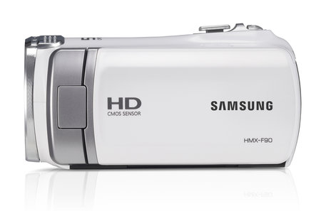Samsung HMX-F90 5-megapixel camcorder, a bit of all-white - photo 3