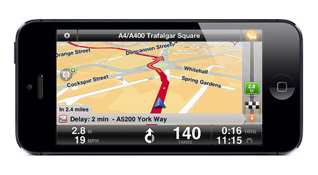 TomTom iOS app updated for iPhone 5