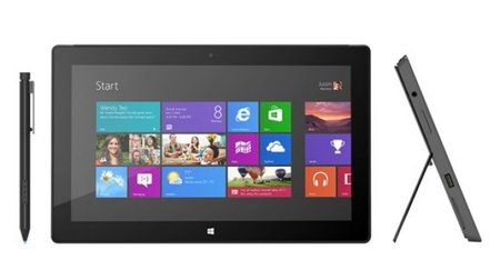 Microsoft Surface with Windows 8 Pro release date: January 2013
