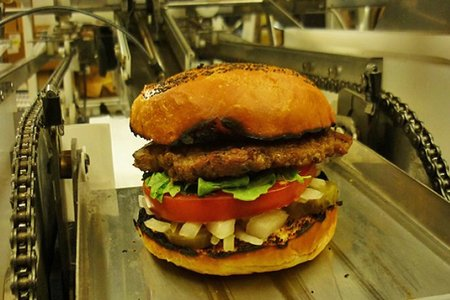 Burgeon: The hamburger-making robot that makes 360 burgers an hour