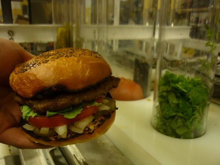 Burgeon: The hamburger-making robot that makes 360 burgers an hour - photo 3