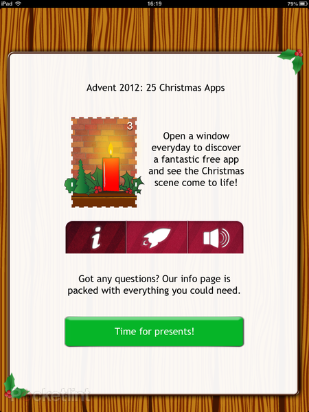 APP OF THE DAY: Advent 2012: 25 Christmas Apps review (iPhone, iPad and Android) - photo 3