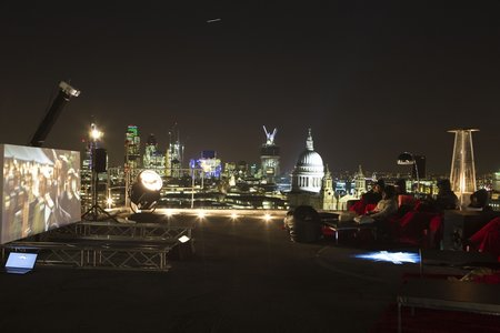 Virgin Media screens The Dark Knight Rises in true Batman style, on top of a tower block - photo 5