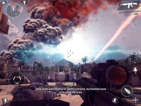 APP OF THE DAY: Modern Combat 4: Zero Hour review (iPad, iPhone, and Android) - photo 1