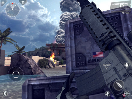 APP OF THE DAY: Modern Combat 4: Zero Hour review (iPad, iPhone, and Android) - photo 4