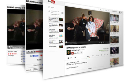 New look YouTube explored