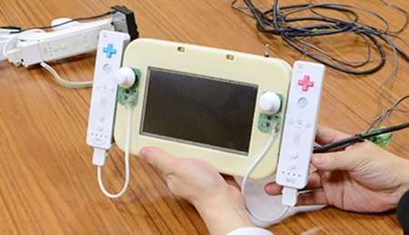 Nintendo Wii U GamePad concepts shown off, sticky back plastic and all - photo 1