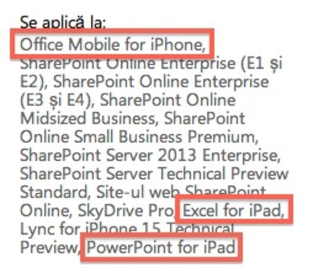 Office Mobile for iPhone leaked by... Microsoft - photo 2