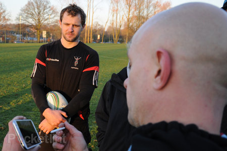 How the Samsung Galaxy Note 2 gives Harlequins a competitive edge - photo 16