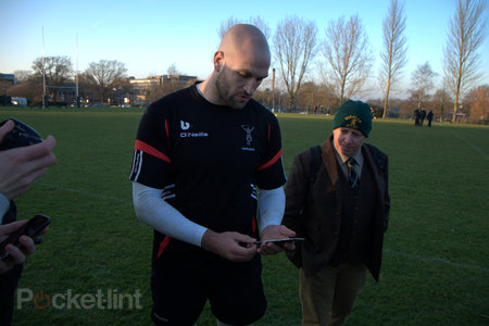 How the Samsung Galaxy Note 2 gives Harlequins a competitive edge - photo 9