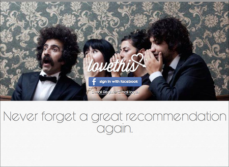 WEBSITE OF THE DAY: Love This