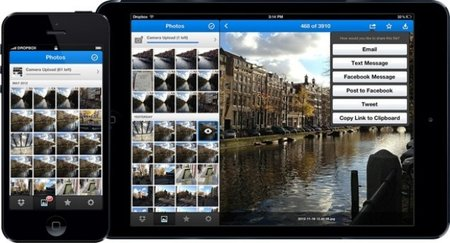 Dropbox takes on Flickr and others with new photo features in iOS app