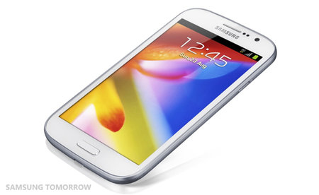 Samsung Galaxy Grand: Big screen, but low resolution
