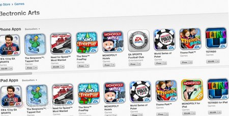 EA iPhone and iPad app Christmas sale is here, FIFA 2013 now 69p