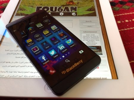 BlackBerry 'L-Series' Z10 revealed in yet more pictures, including test image taken with new phone's camera - photo 4