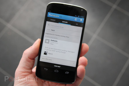 Foursquare will show full names, provide more info to businesses you visit