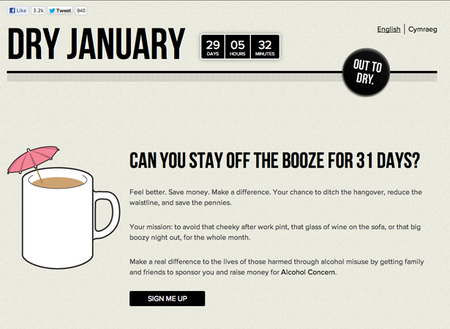 WEBSITE OF THE DAY: Dry January