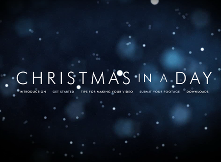 WEBSITE OF THE DAY: Christmas In A Day