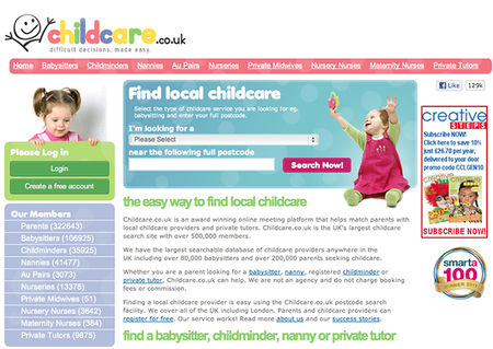 WEBSITE OF THE DAY: Childcare