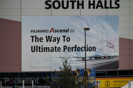 Huawei Ascend D2 will be at CES 2013: 'The way to ultimate perfection' boasts the poster reveal
