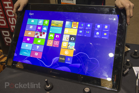 Lenovo IdeaCentre Horizon 27-inch tabletop all-in-one PC pictures and hands-on