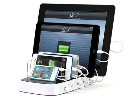 Griffin PowerDock 5 family iDevice charger