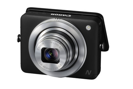 Canon PowerShot N offers tilting screen, any-way-up photography - photo 2